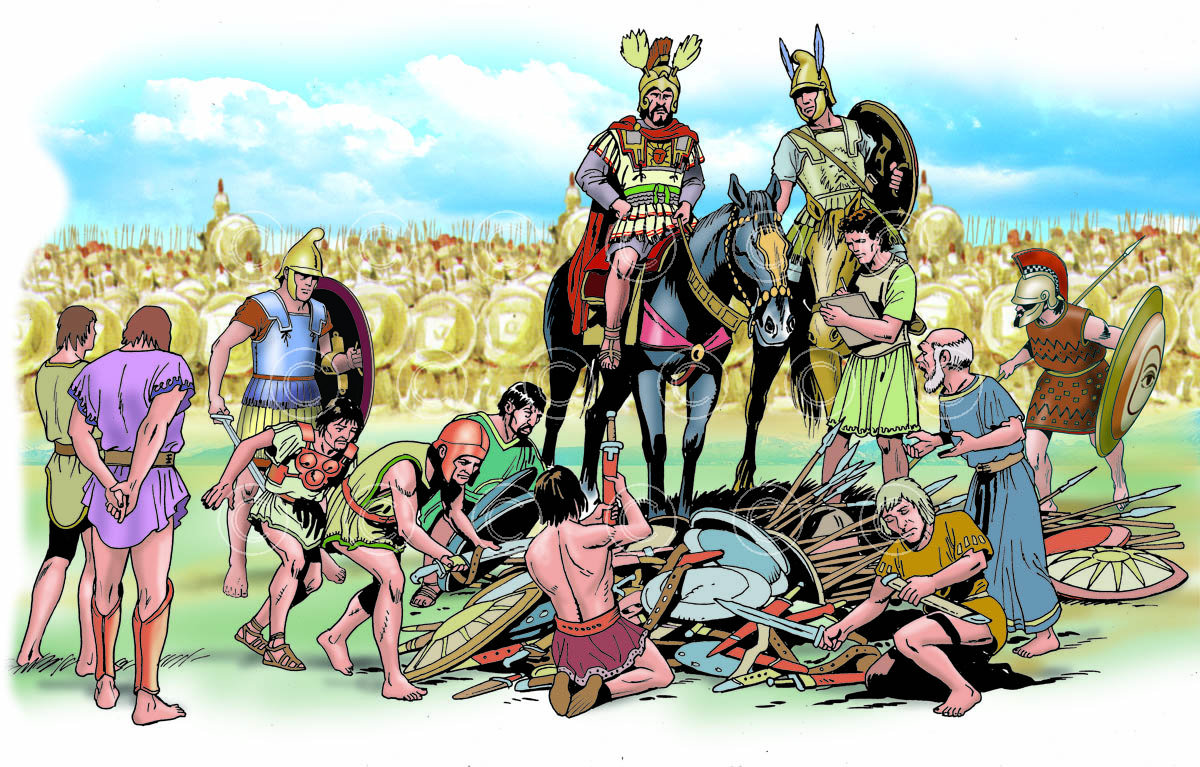 0802 Cleonymus of Sparta help Taras against the Lucanians