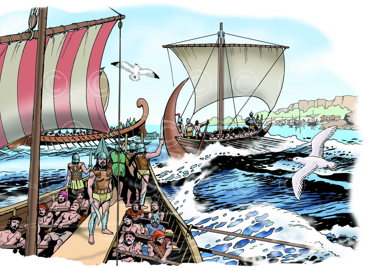 0402 Etruscans and Phoenicians arrive in Corsica
