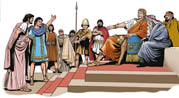 1004 Tarentines call help from King Pyrrhus of Epirus